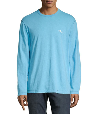 Tommy Bahama BLUE FISH BAY LUX TEE LS