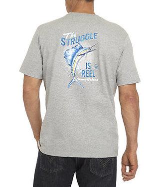 Tommy Bahama THE STRUGGLE IS REEL TEE