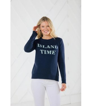 Sail to Sable R1943 ISLAND TIME INTARSIA SWEATER