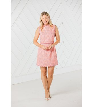 Sail to Sable MOCK NECK FLARE DRESS