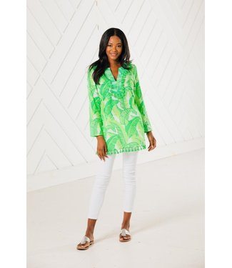 Sail to Sable TASSEL TUNIC TOP