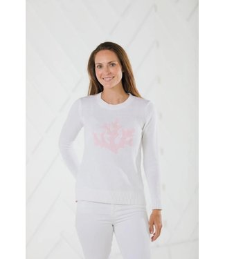 Sail to Sable CORAL INTARSIA SWEATER