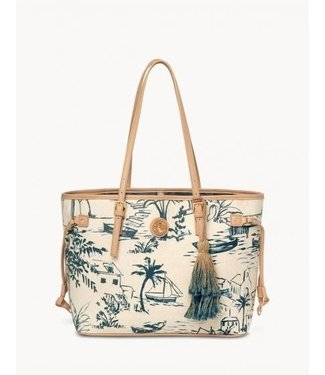 Spartina Daise Seascape Jetsetter Tote