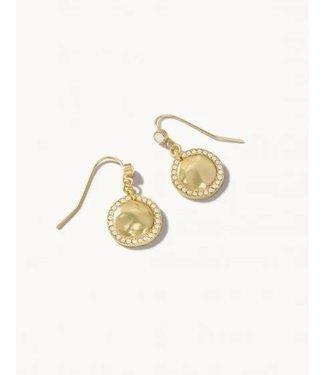Spartina Aura Drop Earrings White Opal
