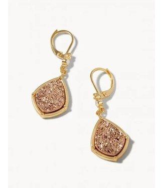 Spartina Druzy Drop Earrings Prosecco
