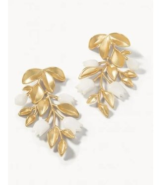 Spartina West Bluff Statement Earrings Gold