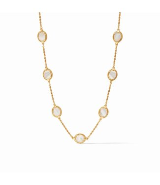 Julie Vos CALYPSO DELICATE NECKLACE - MOTHER OF PEARL