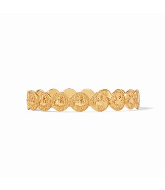 Julie Vos COIN BANGLE GOLD ZIRCON MD