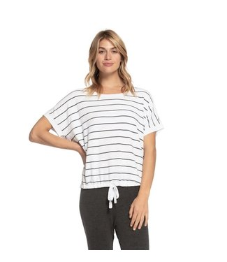 Barefoot Dreams ULTRA LITE STRIPED PULLOVER