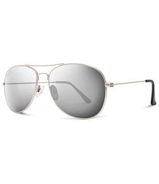 Abaco Avery Silver Frame Sunglasses