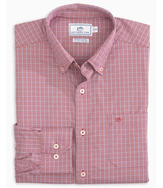 Southern Tide M Staysail Gingham IC Sportsht