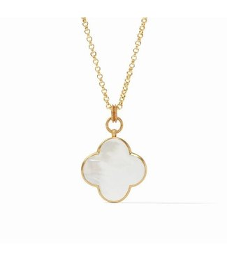 Julie Vos CHLOE STATEMENT PENDANT - MOTHER OF PEARL