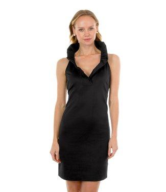 Gretchen Scott JDRNSL RN SLEEVELESS DRESS - Black