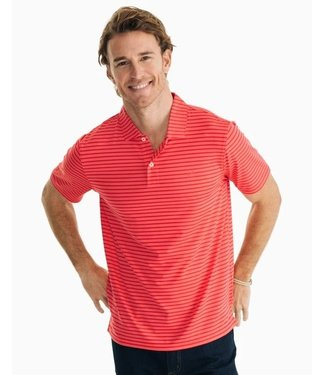 Southern Tide M SS First Mate Perf Polo
