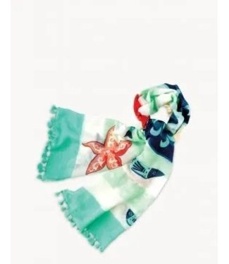 Spartina Retro Mermaid Scarf