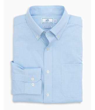 Southern Tide M LS IC GAMEDAY GINGHAM SPORTSHIRT