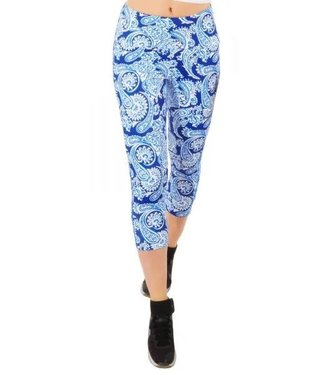 Gretchen Scott Jock Girl Leggings - Plentiful Paisley