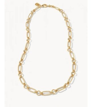 """Spartina ASHLEY CHAIN NECKLACE 18"""" GOLD"""