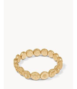 Spartina COIN STRETCH BRACELET MONARCH/GOLD