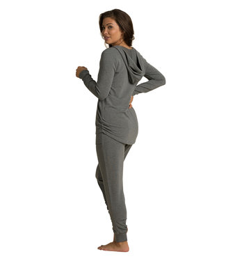 Barefoot Dreams MC LUXE LOUNGE SCRUNCH HOODIE