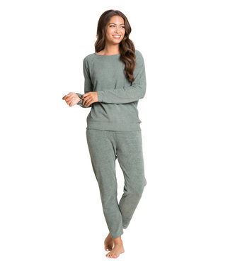Barefoot Dreams CCUL EVERYDAY PANTS - AGAVE