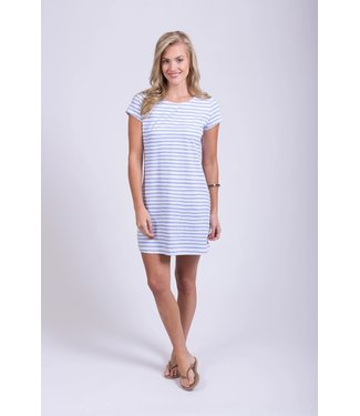 HIHO TEE SHIRT DRESS - STRIPE