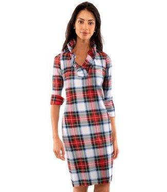 Gretchen Scott RUFF NECK DRESS - DUKE OF YORK