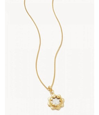 """Spartina MAGNOLIA NECKLACE 36"""" MOTHER-OF-PEARL"""