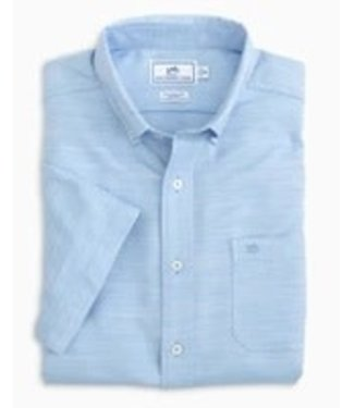 Southern Tide M SS Sea Cloth Sportshirt