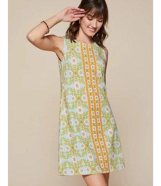 Spartina LULIE SHIFT DRESS HONEY HORN