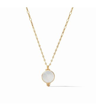 Julie Vos MERIDIAN DELICATE NECKLACE MOP 17-18 INCHES