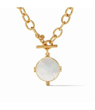 Julie Vos MERIDIAN STATEMENT NECKLACE MOTHER OF PEARL
