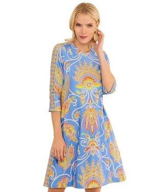 Gretchen Scott SWING DRESS - PLUME