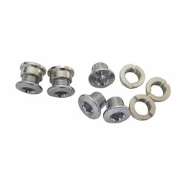 Single Speed Chainring Bolts 6.5mm (Pack 5)