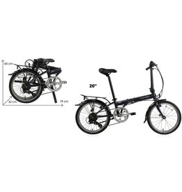 DAHON Dahon Speed D7 Street - Smoke