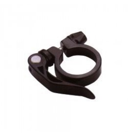 EVO Evo 31.8mm Quick Release Seat Post Collar Clamp Black