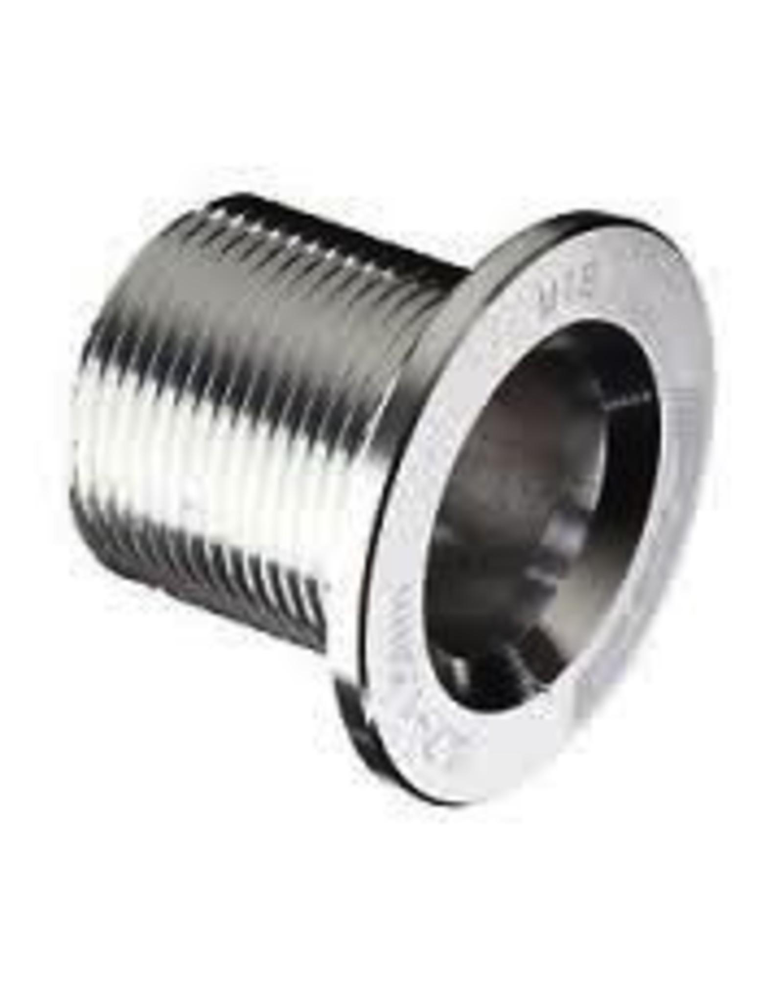 FSA ML-140 Crank Bolt Silver M18 Alloy Mega Exo Spindle Gossamer V-Drive