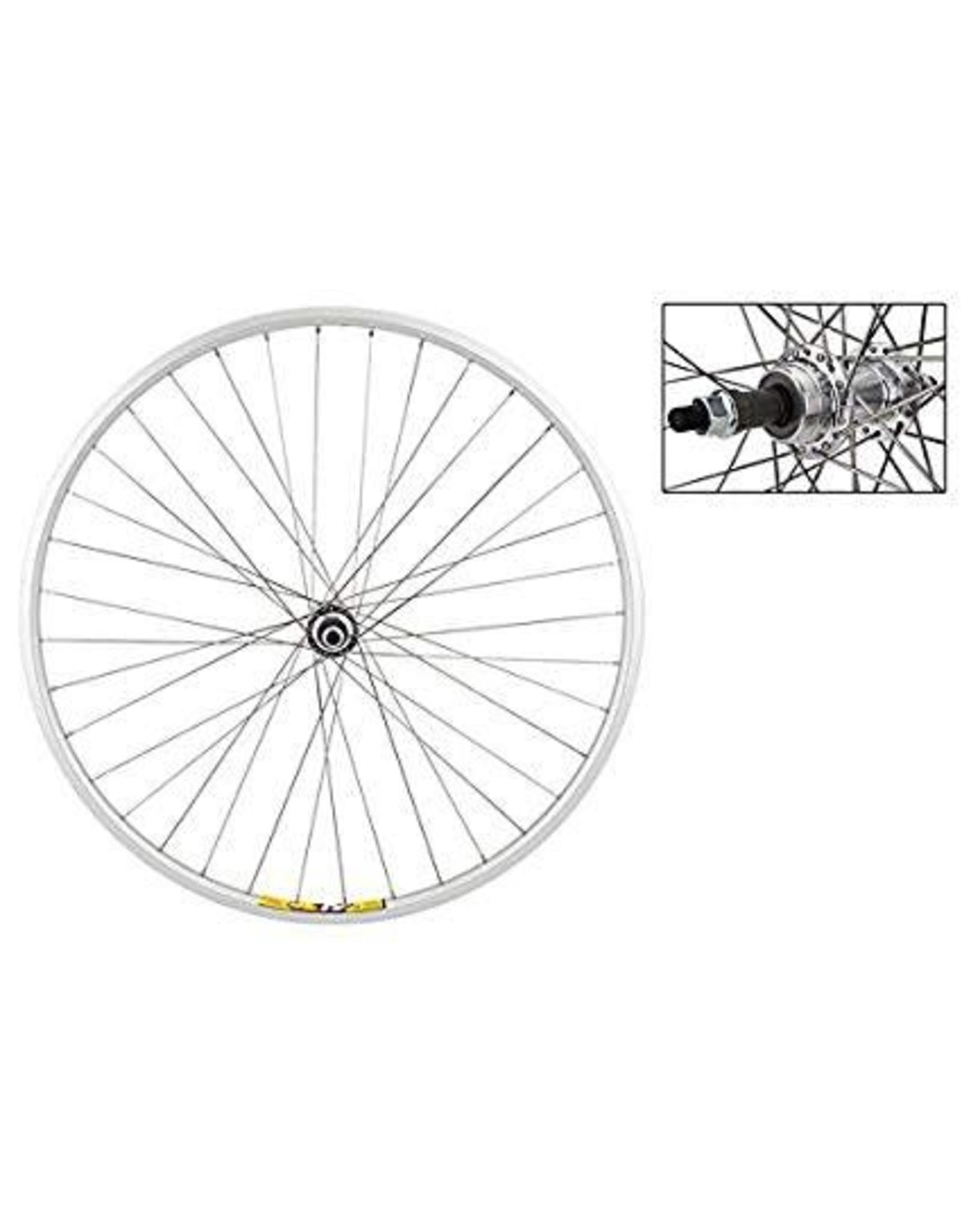 700c Rear Wheel - Freewheel - Bolt On