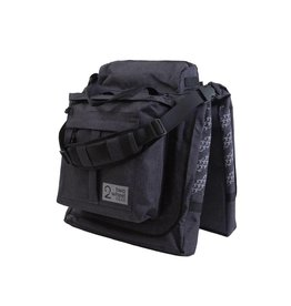 Two Wheel Gear Classic 2.0 Garment Pannier w/ Rain Cover - Graphite Grey