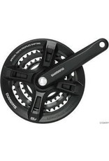SHIMANO Shimano FC-TY501 Crankset 48/38/28 175mm - Black - 6/7/8-Speed