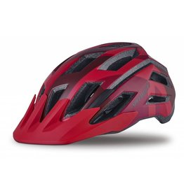 SPECIALIZED Specialized Tactic III Helmet - Matte Red Fractal - M