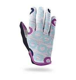 SPECIALIZED Specialized Women's Grail Glove Long Finger - Light Grey Heather/Fuchsia - Small