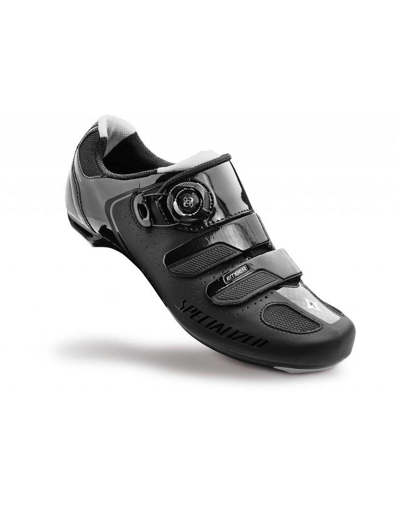 SPECIALIZED Specialized Women's Ember Road Shoe - Black/Silver - 37