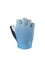 SPECIALIZED Specialized Women's BG Grail Glove - Neon Blue/Geo Crest - Medium