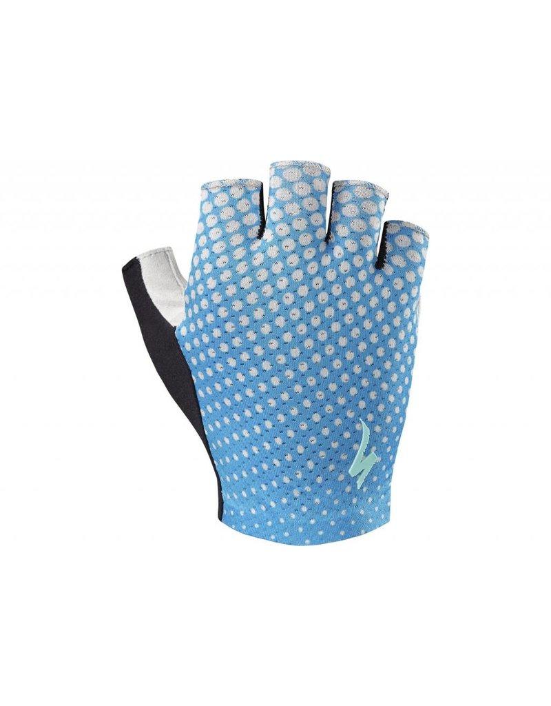 SPECIALIZED Specialized Women's BG Grail Glove - Neon Blue/Geo Crest - Medium