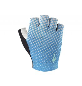SPECIALIZED Specialized Women's BG Grail Glove - Neon Blue/Geo Crest - Small
