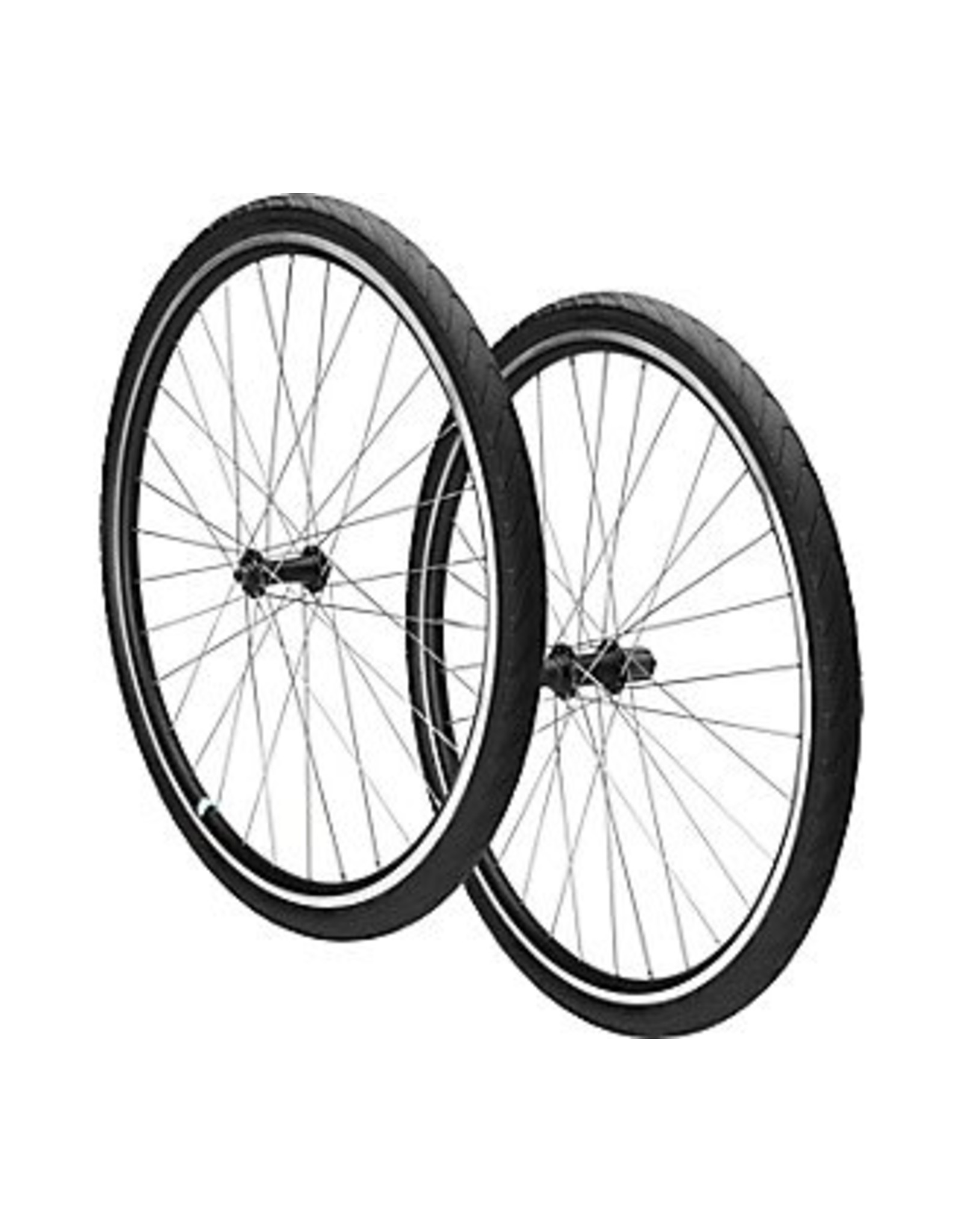 SPECIALIZED Specialized Alibi Sport Wheelset w/ Tires - Black - 700c