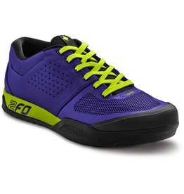 SPECIALIZED Specialized Women's 2FO Flat Shoe - Indigo/Hyper Green - 41