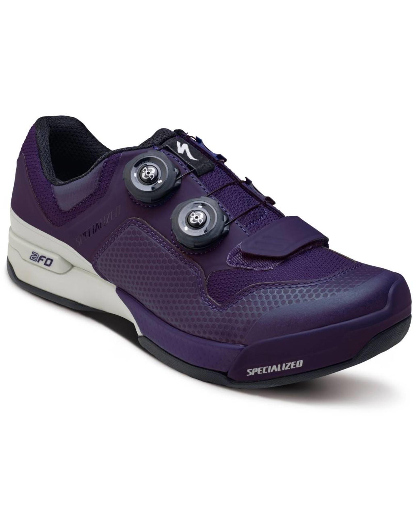 SPECIALIZED Specialized Women's 2FO Cliplite MTB Shoe - Indigo/White - 38