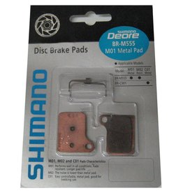 SHIMANO Shimano Disc Pad M01 Metallic (M555)